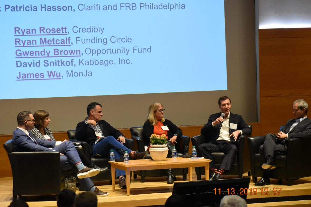 Panel with James Wu, MonJa, at The Federal Reserve Bank of Philadelphia: Third Annual Fintech Conference